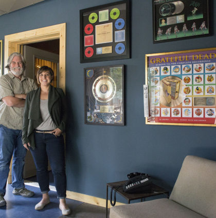 Glow Promotes Airshow Mastering's New Boulder Studio