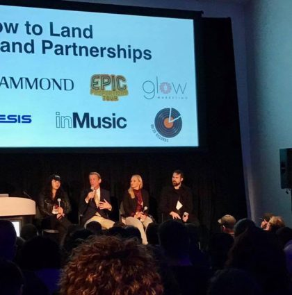 Chandra Lynn Added to NAMM Panel on How to Land Brand Partnerships