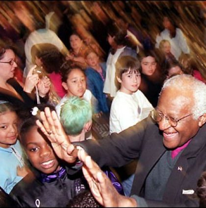 Glow Living Partners with Unity: The Desmond Tutu Legacy Project