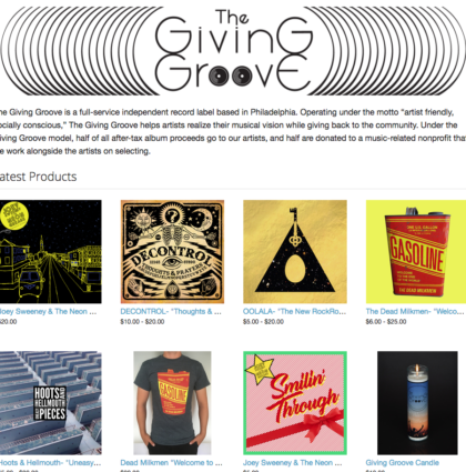 The Giving Groove Records